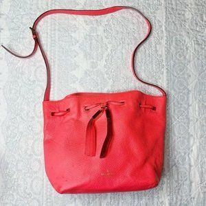 Kate Spade Cooper Grey Street Hot Rose Bucket Bag